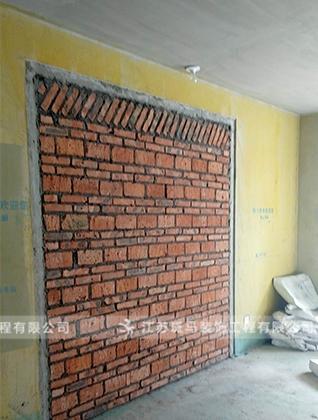 砌墙现场工艺