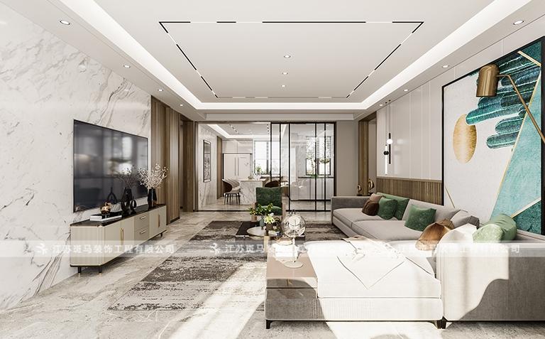 香苑东园-现代风格-138m²