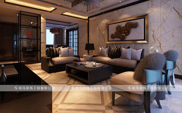 金色果缘-180M²-新中式
